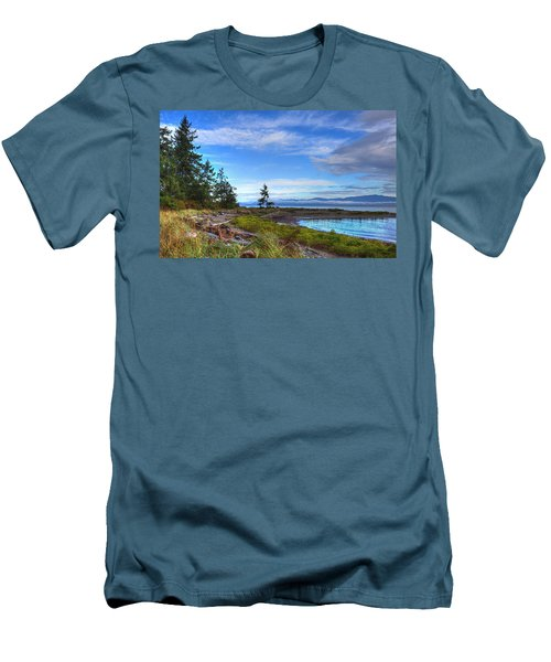 Clearing Skies Men's T-Shirt (Athletic Fit)