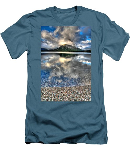 Men's T-Shirt (Slim Fit) featuring the photograph Cloud Catcher by David Andersen