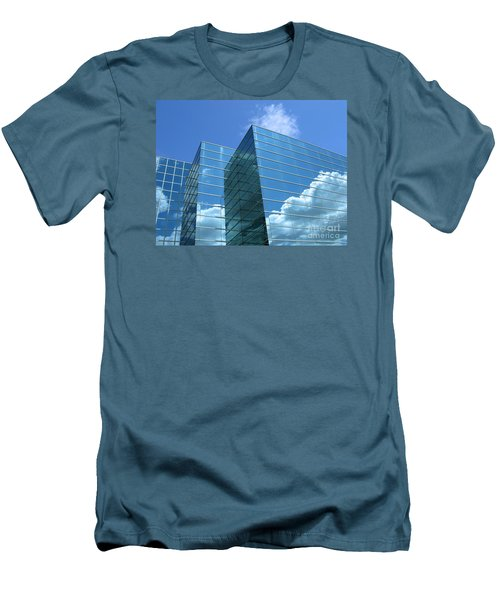 Men's T-Shirt (Slim Fit) featuring the photograph Cloud Mirror by Ann Horn