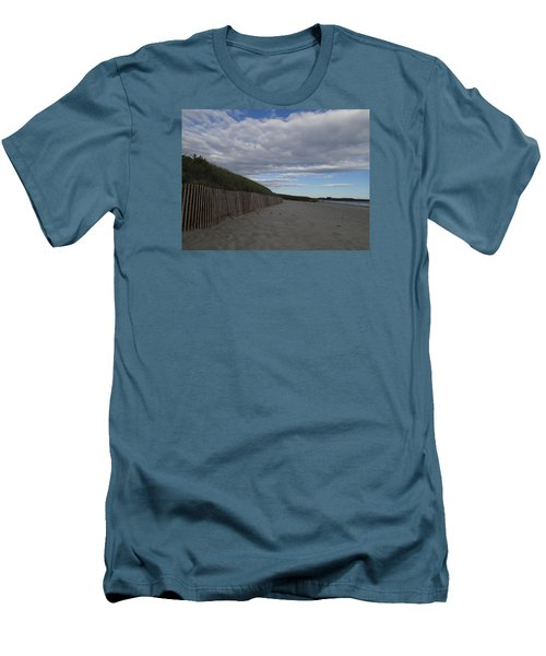 Clouded Beach Men's T-Shirt (Athletic Fit)