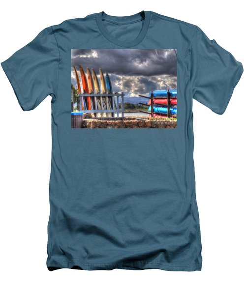 Cloudy Day Men's T-Shirt (Athletic Fit)