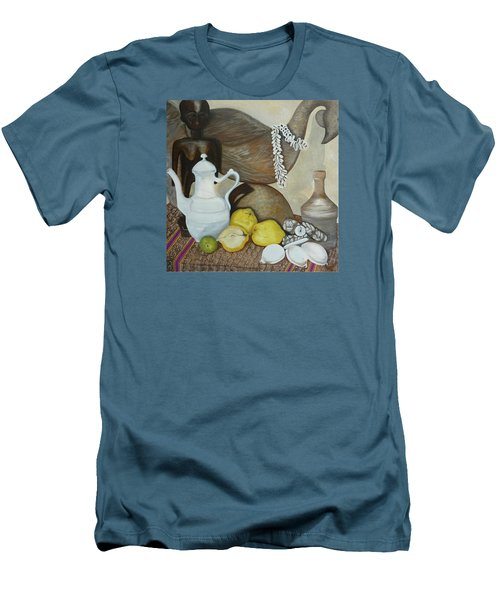 Coffee Pot Men's T-Shirt (Athletic Fit)