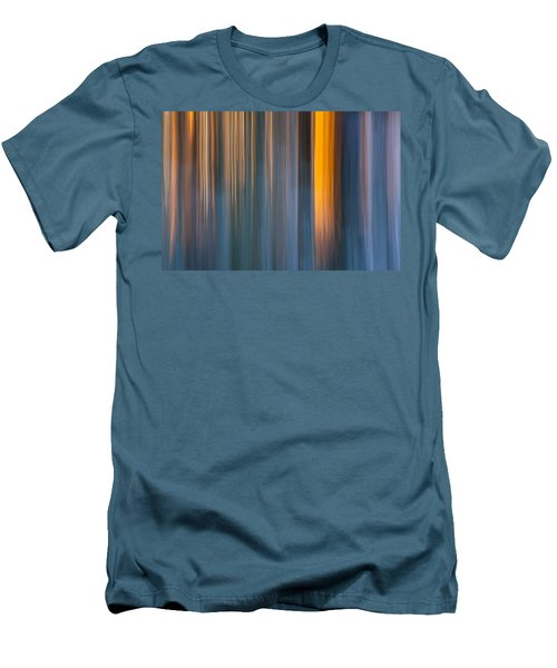 Men's T-Shirt (Slim Fit) featuring the photograph Cold Shadows by Davorin Mance