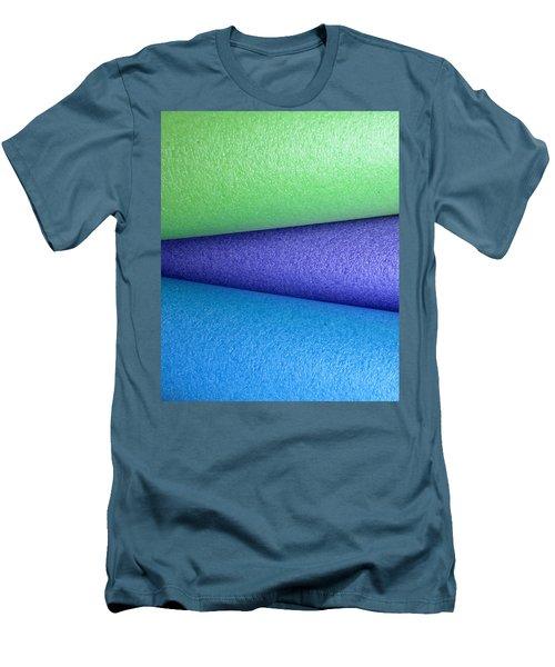 Colorscape Tubes B Men's T-Shirt (Athletic Fit)