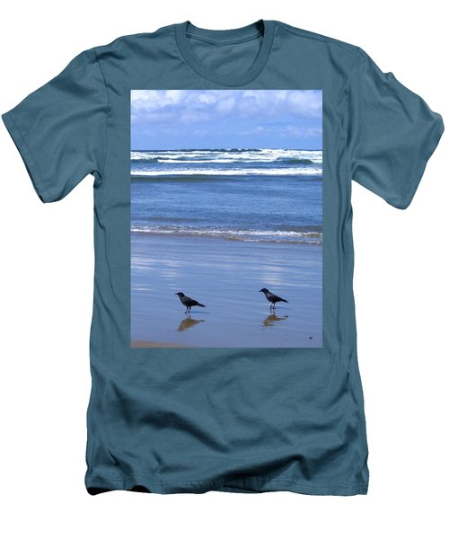 Companion Crows Men's T-Shirt (Athletic Fit)