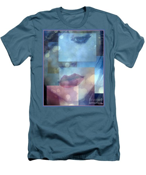 Men's T-Shirt (Slim Fit) featuring the photograph Compartmentalised by Irma BACKELANT GALLERIES