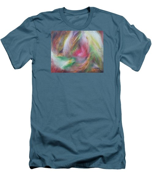 Compassion Men's T-Shirt (Slim Fit) by Becky Chappell