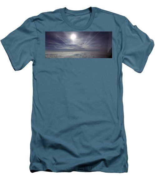 Contrail Panorama Men's T-Shirt (Athletic Fit)