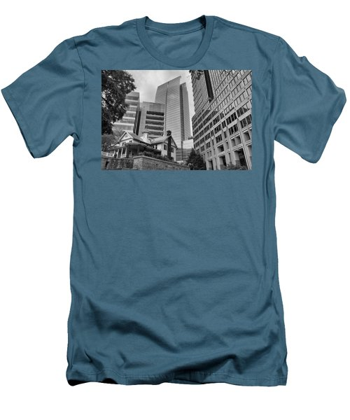 Contrasting Southern Architecture Men's T-Shirt (Slim Fit) by Douglas Barnard