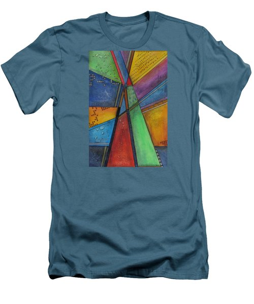 Convergence Men's T-Shirt (Slim Fit) by Nicole Nadeau