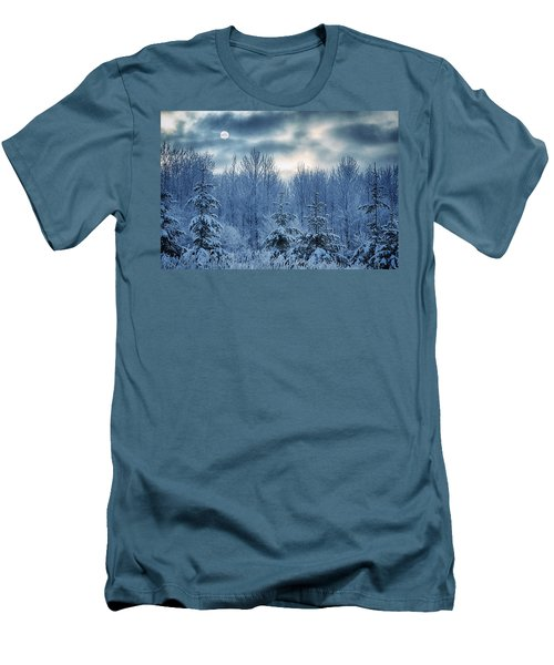 Cool Sunrise Men's T-Shirt (Slim Fit) by Joan Carroll