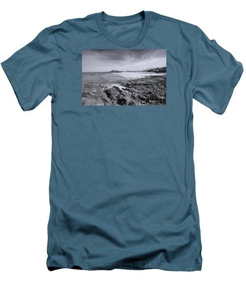 Cornwall Coastline 2 Men's T-Shirt (Slim Fit) by Doug Wilton