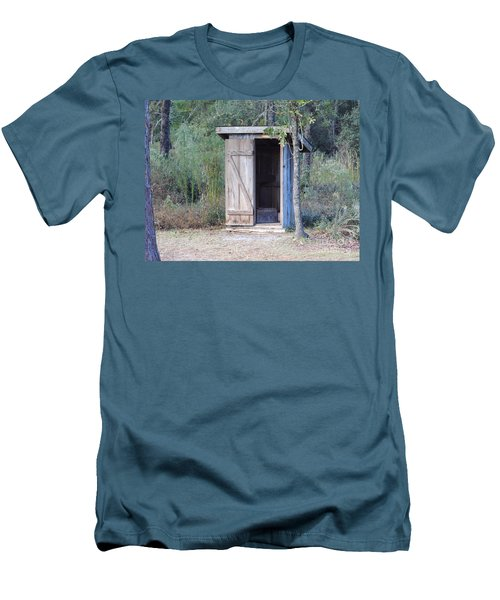 Cracker Out House Men's T-Shirt (Athletic Fit)