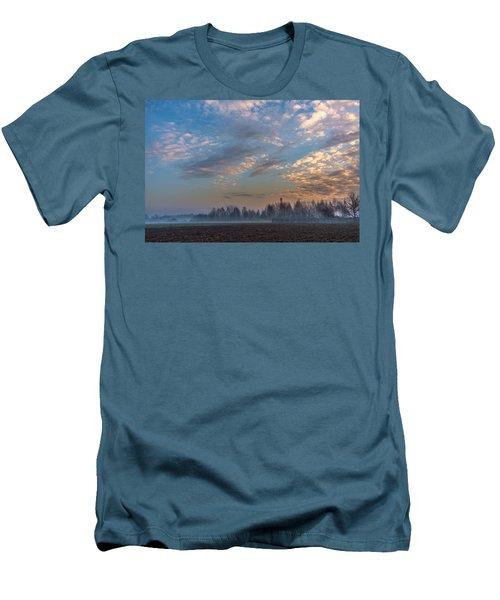 Crawling Mist Men's T-Shirt (Slim Fit) by Tgchan