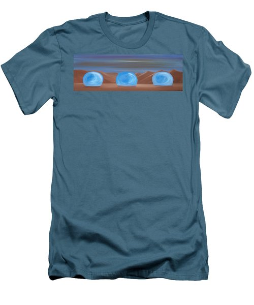 Men's T-Shirt (Slim Fit) featuring the painting Creation 1 by Tim Mullaney