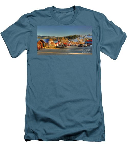 Crouch Main St Men's T-Shirt (Slim Fit) by Sam Rosen