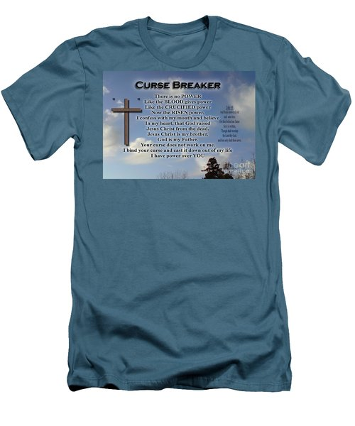 Curse Breaker Men's T-Shirt (Athletic Fit)