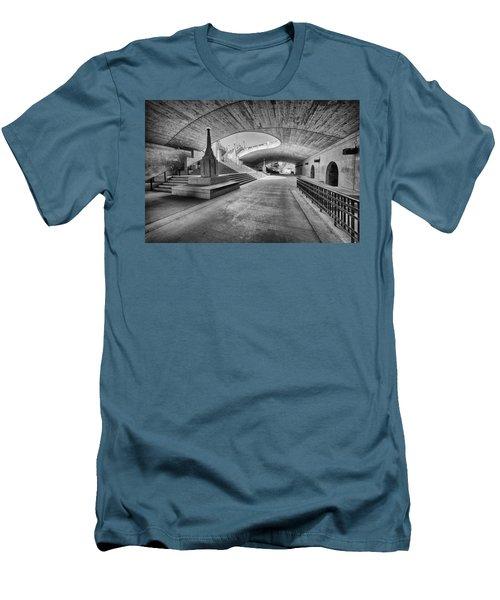 Curves Men's T-Shirt (Slim Fit) by Eunice Gibb