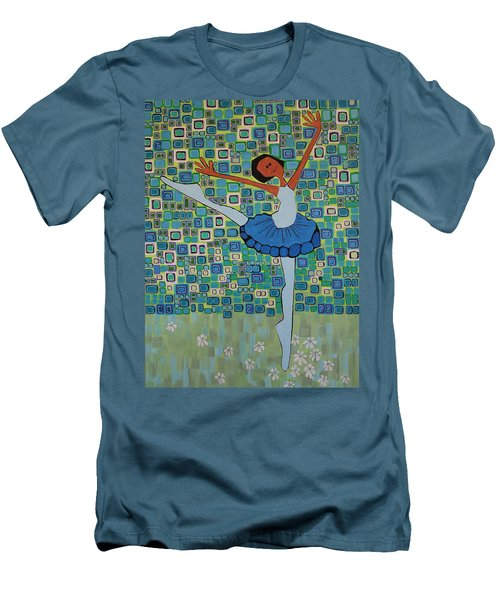 Daizies' Ballet Men's T-Shirt (Athletic Fit)