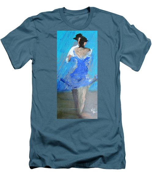 Dance In The Rain Men's T-Shirt (Slim Fit) by Keith Thue