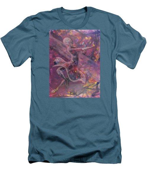 Dancer Men's T-Shirt (Slim Fit) by Jack Malloch