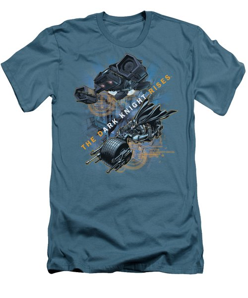 Dark Knight Rises - Batmans Toys Men's T-Shirt (Athletic Fit)