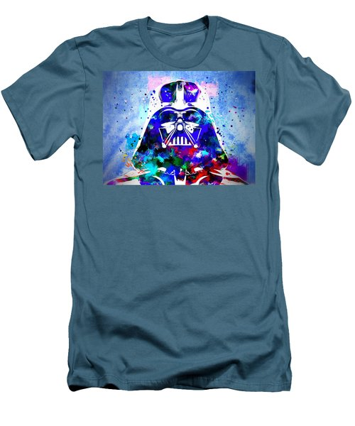 Darth Vader Star Wars Men's T-Shirt (Slim Fit) by Daniel Janda