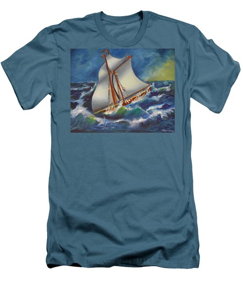Daves' Ship Men's T-Shirt (Athletic Fit)