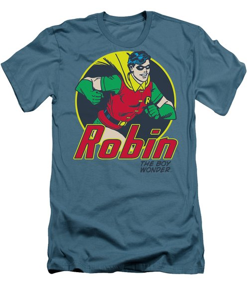 Dc - The Boy Wonder Men's T-Shirt (Athletic Fit)