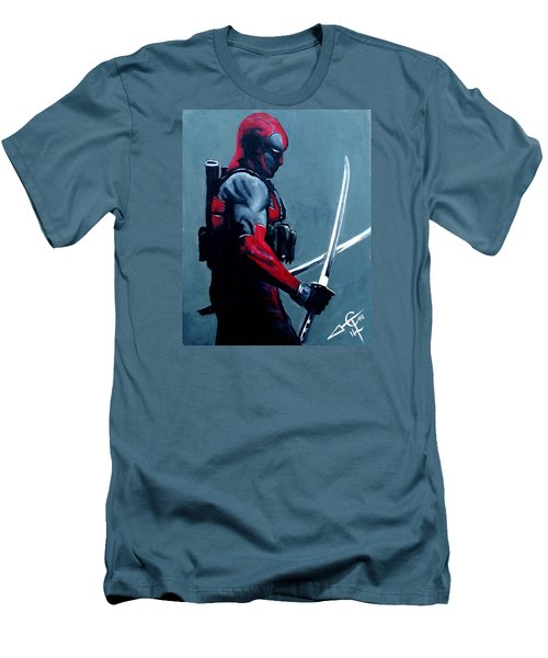 Deadpool Men's T-Shirt (Athletic Fit)