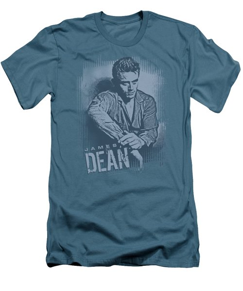 Dean - Not Amused Men's T-Shirt (Slim Fit) by Brand A