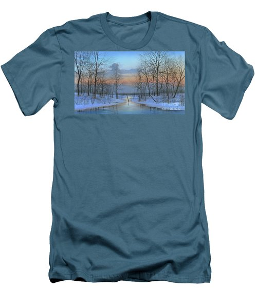 December Solitude Men's T-Shirt (Slim Fit) by Mike Brown