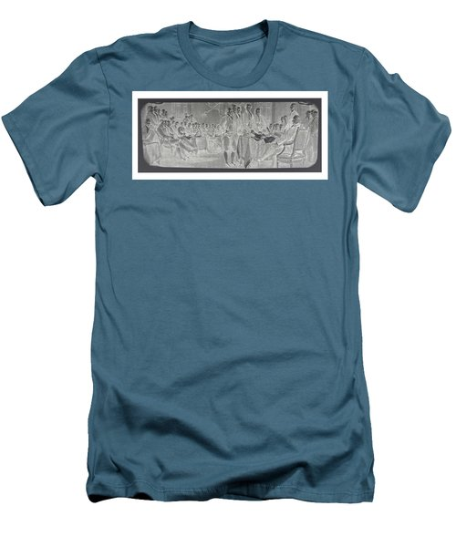 Declaration Of Independence In Negative Men's T-Shirt (Athletic Fit)