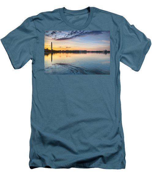 Men's T-Shirt (Slim Fit) featuring the photograph Democracy Awakens by Sebastian Musial