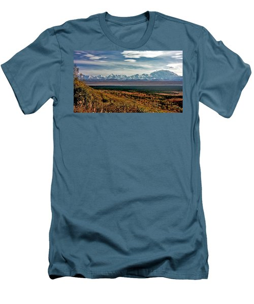 Men's T-Shirt (Slim Fit) featuring the photograph Denali Colors by Jeremy Rhoades
