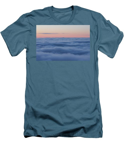Men's T-Shirt (Slim Fit) featuring the photograph Descent by Bruce Patrick Smith