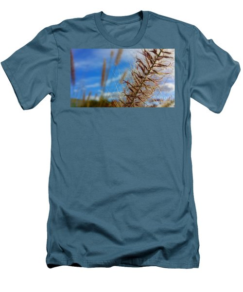 Men's T-Shirt (Slim Fit) featuring the photograph Desert Foliage by Chris Tarpening