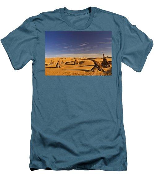 Desert Village Men's T-Shirt (Athletic Fit)
