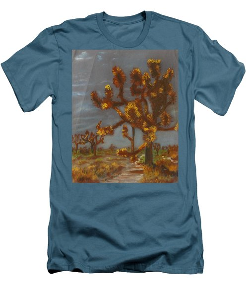 Dessert Trees Men's T-Shirt (Athletic Fit)
