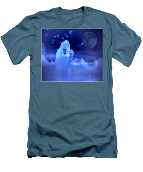 Men's T-Shirt (Slim Fit) featuring the photograph Discoveries by Joyce Dickens
