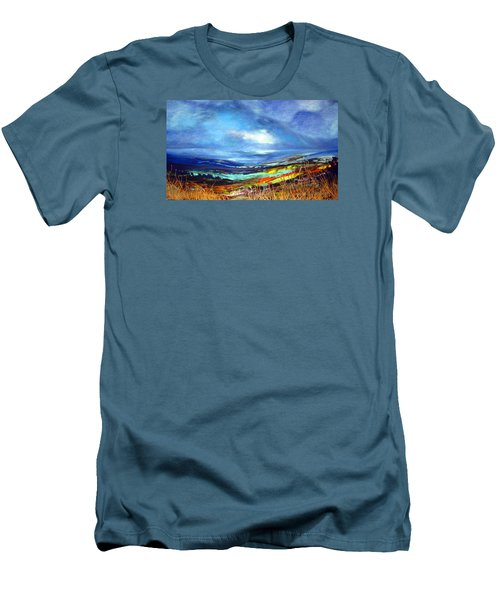 Distant Vista Men's T-Shirt (Slim Fit) by Jan VonBokel