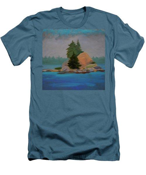 Pork Of Junk Men's T-Shirt (Slim Fit) by Francine Frank