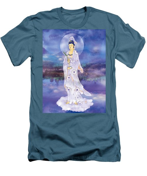 Doro Guanyin Men's T-Shirt (Slim Fit) by Lanjee Chee