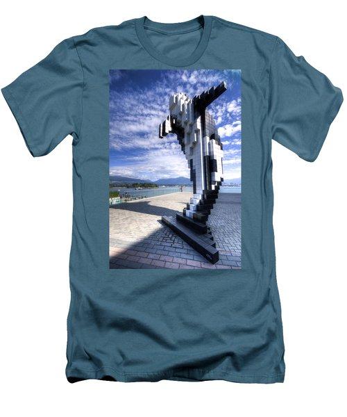Douglas Coupland's Digital Orca Men's T-Shirt (Athletic Fit)