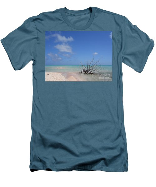 Dream Atoll  Men's T-Shirt (Athletic Fit)