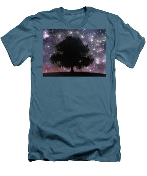 Dreaming Tree Men's T-Shirt (Slim Fit) by Aaron Martens
