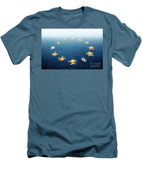 Drifting Europe Men's T-Shirt (Athletic Fit)