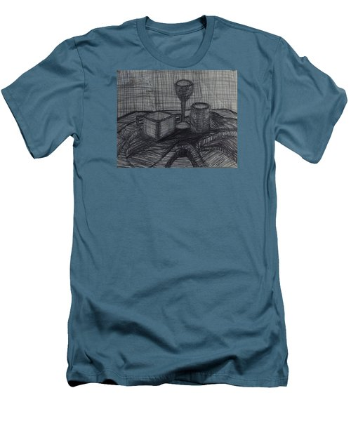 Drinks Men's T-Shirt (Slim Fit) by Erika Chamberlin