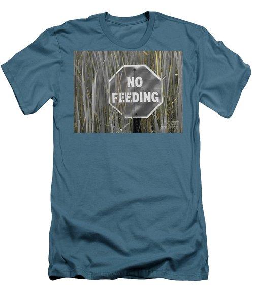 Men's T-Shirt (Slim Fit) featuring the photograph Duck Pond by Michael Krek