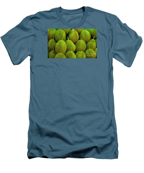 Durian Men's T-Shirt (Slim Fit) by Ranjini Kandasamy